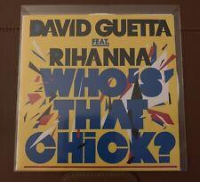 RARE - David Guetta ft Rihanna - Who's That Chick (& Remixes) - Promo CD Single