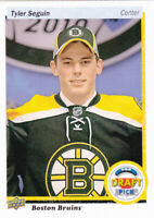 17/18 UD..TYLER SEQUIN..TOP DRAFT PICK..# DRAFT-46..BRUINS..FREE COMBINED SHIP
