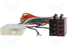 Cable adaptador conector radio oem a iso NISSAN, OPEL, RENAULT, A ISO