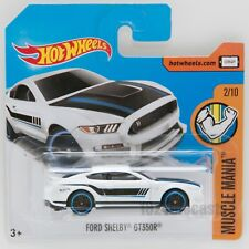 Ford Shelby GT350R, Hot Wheels Muscle Mania, scale 1:64, model toy boy gift