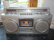 Sony CFS-47L Cassette Player Radio Vintage Ghettoblaster Boombox 1980's