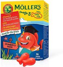 Moller's ®   Omega 3 Capsules for Children   Natural Fish Oil Omega 3 Cod Liver