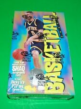 1994 Classic Basketball DRAFT '94  Factory Sealed Box Shaquille O'NEAL autograph