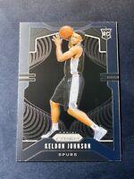 2019-20 Panini Prizm Keldon Johnson RC Non Silver Holo Base San Antonio Spurs