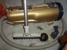 VINTAGE ELECTROLUX MODEL L GOLD VERSION w/ ATTACHMENTS CANISTER WORKING GREAT