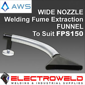 Wide Nozzle Funnel for AWS Welding Fume Extraction System Exhaust Ventilation