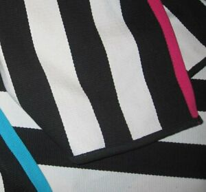 "IKEA MYRILILJA Striped Cotton Area Rug; 2'4x4'7"", Black White; NWT"