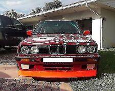 P Front Bumper EVO style Valance Chin Lid Spoiler Lip For BMW E30