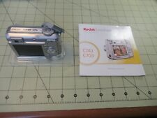 KODAK EASYSHARE C743 - 3x OPTICAL ZOOM - CAMERA ONLY - SILVER - TESTED/WORKS