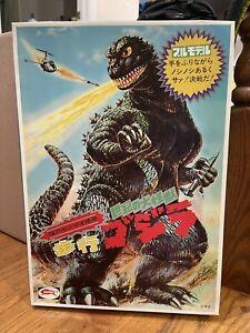 Bullmark Godzilla! Wind up Model kit! READ DESCRIPTION!