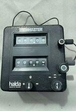 Halda Twinmaster Plastic Case, box, cable, 2 T pieces, complete X gear set