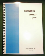 Yaesu FT-7 Instruction Manual - Premium Card Stock Covers & 28 LB Paper!