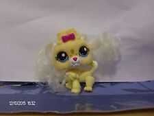 Littlest Pet Shop Yellow Dog with Real Hair and Blue Eyes #2638