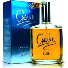 Revlon Charlie Blue EAU FRAICHE Natural Spray Women Gift Ladies Perfume 100ml
