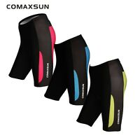 Women's Pro Cycling Shorts Padded Half Pants Bike Bicycle Sports Tight 3 Color