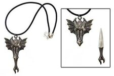 Dragon Head Necklace with Stainless Steel Blade