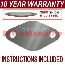 FORD FOCUS MONDEO KUGA C-MAX S-MAX GALAXY EGR VALVE BLANKING PLATE 3MM STEEL ND