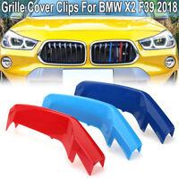 Niere Kühlergrill Grill Abdeckung Streifen Clip cover für 18 BMW X2 F39