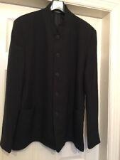 """BNWOT Dimensions Monaco mens Black Suit jacket. Drivers Jacket size 44"""""""