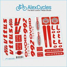 Restoration Decals Kit for VITUS 992 OVOID  Frame Fork FREE Gift Stickers Set