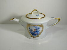"""HUTSCHENREUTHER TEAPOT - MARY GREGORY STYLE CAMEO - ARTIST """"THEDA ALBERT 1960"""""""