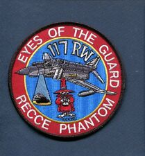 117th TRW USAF McDONNELL RF-4 F-4 PHANTOM RECONNAISSANCE Fighter Squadron Patch
