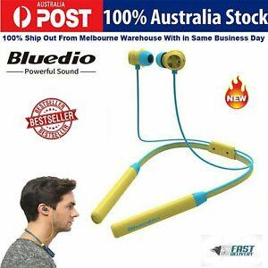 Bluedio TN Bluetooth Headphone Cordless Earphone Noise Cancellation Function AU