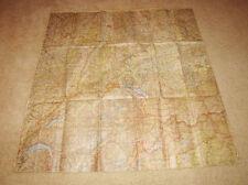 WW2 German Luftwaffe 1:500000 Fliegerkarte Pilot Map #3 - VERY NICE!