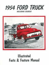 1954 Ford Truck F100-F350 / Courier Facts Features Sales Brochure Literature