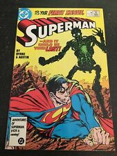 Superman#1 Incredible Condition 9.4(1987) 1st App/Origin New Mentallo,Byrne Art