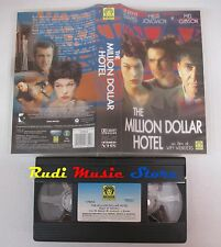 film VHS THE MILLION DOLLAR HOTEL J. Davies M. Jovovich Medusa   (F22*)  no dvd
