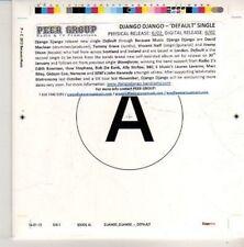 (CN406) Diango Diango, Default - 2012 DJ CD