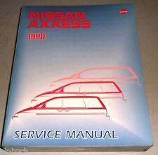 Werkstatthandbuch / Service Manual Nissan Axxess (Prairie) M11 Van 1990