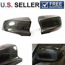 2007-2013 BMW X5M X6M E70 E71 Real Carbon Fiber Mirror Covers New