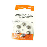 18 A13 13 PR48 7000ZD 1.4V Zinc Air Hearing Aid Battery