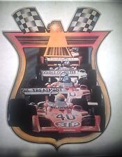 Vintage 70s Formula One Race Cars Iron-On Transfer Rare! Racing