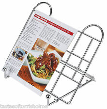Kitchen Craft Adjustable Folding Wire Recipe Cook Book Stand & Holder