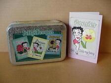 Betty Boop NOTE CARD GIFT SET GARDEN DESIGN