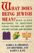 What Does Being Jewish Mean?: Read-Aloud Responses to Questions Jewish-ExLibrary