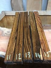 """Bocote (mex rosewood) Spindle Blank/wood turning/exotic Wood 1.5x1.5x18"""" REDUCED"""