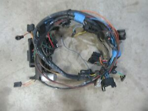1967-1972 Chevrolet C10 truck interior under dash fuse box wire harness wiring