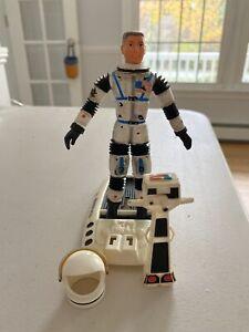 Vintage 1968 Major Matt Mason Action Figure - Blue Strap Astronaut NASA Rare
