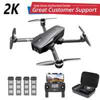 Holy Stone Brushless GPS Drone HS720 2K Camera Foldable 5G FPV Quadcopter +CASE