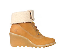 Timberland  Women's Amston Roll-Top Boots 8257a size 10