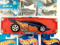 Hot Wheels Shadow Jet 6 Car Carrying Case With 6 New Cars Vintage