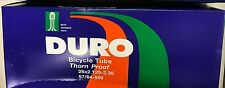 Duro 26x2.125/2.35 Schrader Bike Inner Tube Thorn Proof Heavy Duty Fat Tire