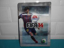 17.5.21.9 Steelbook seul FIFA 14 3D jeu X box 360 PS3 boite métal