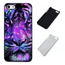 Neon Tiger plastic phone case Fits iPhone