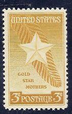 U S Stamp 1948 Gold Star Mothers 3 Cent Stamp MNH stamp