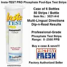 PRO Phosphate Insta-TEST Pool & Spa Test Strips, 3021-H-6, pkg of 50 - CS OF 6